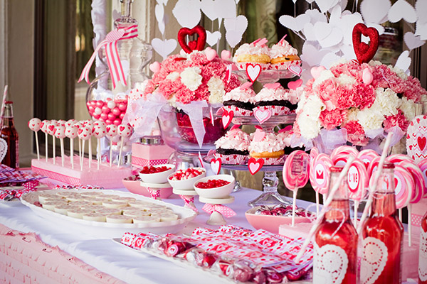 Seriously Lovely Pink And Red Valentine S Day Party