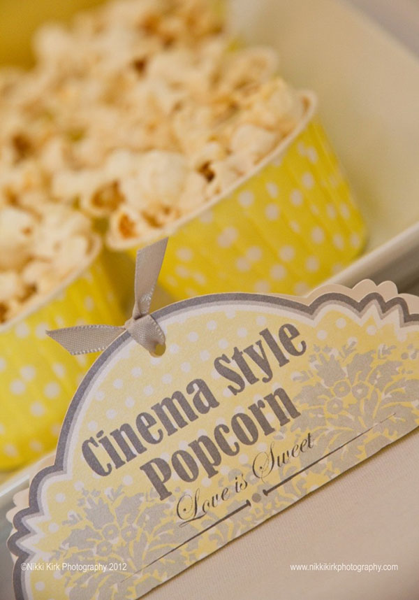 Popcorn in mini containers-yes!