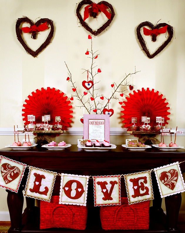 Rustic Valentine's Day Party