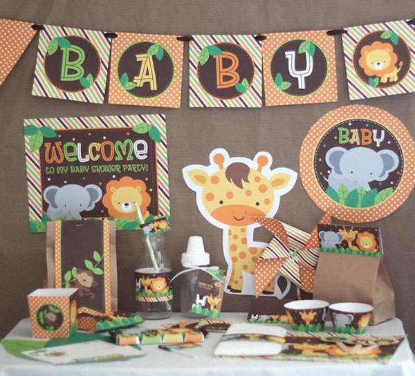 This is such a such Baby Shower theme!