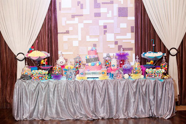 Adorable Cirque Du Soleil Sweet 16 Party- B. Lovely Events