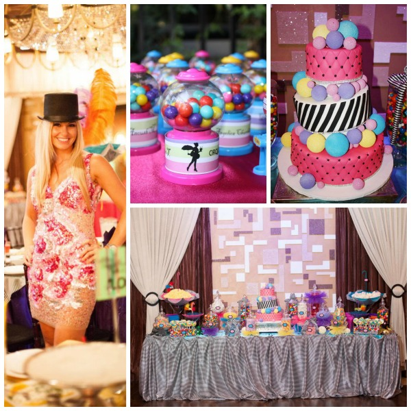 Cirque Du Soleil Sweet 16 party! - B. Lovely Events