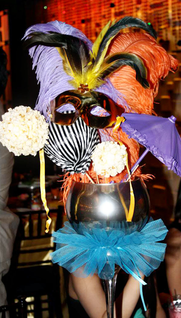 Cirque du soleil sweet 16 party b lovely events - Decoration theme cirque ...