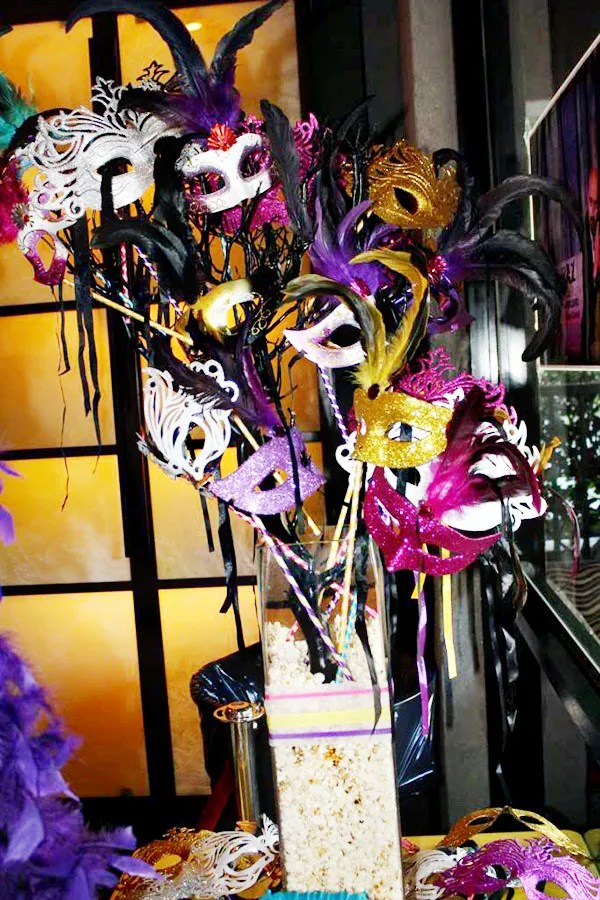 Cirque du soleil sweet 16 party decorations- B. Lovely Events