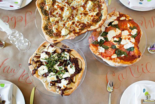 Have A Pizza Buffet At Your Parties!