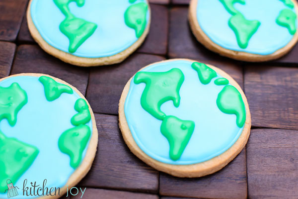 Awesome Earth Day Cookies!