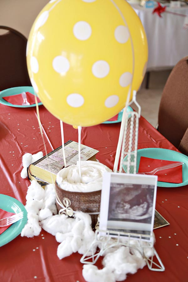 Welcome to the world travel theme baby shower
