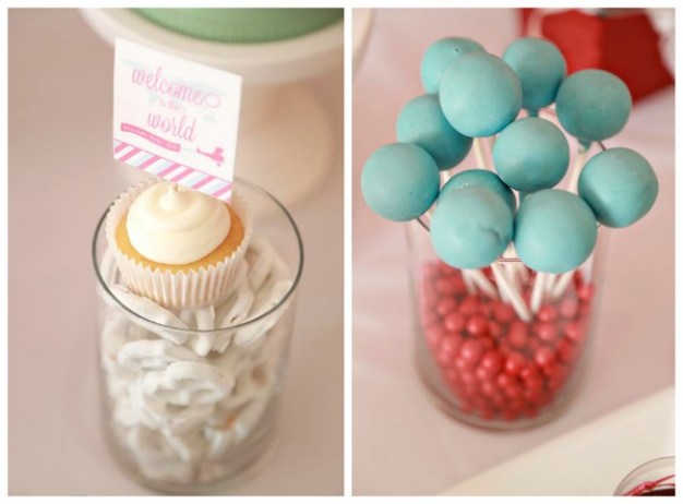 Travel Baby Shower Desserts