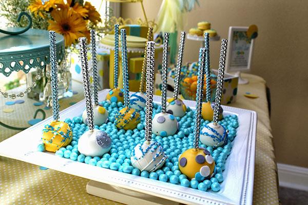 Cake pop sparkle sticks!