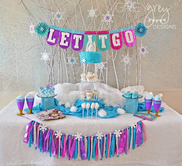 BRRRR! Frozen Party Ideas!