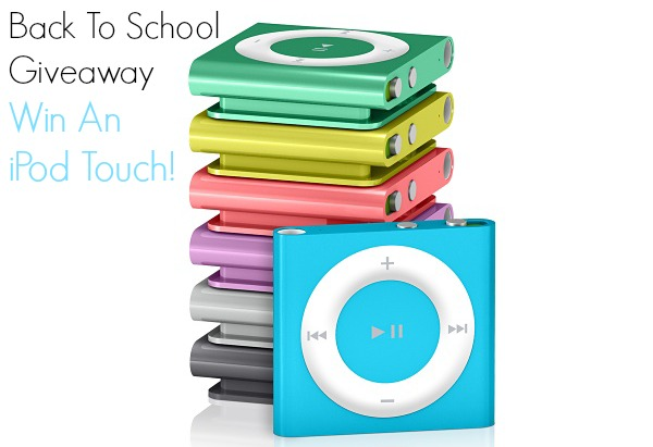 Back To School Giveaway- ipod touch
