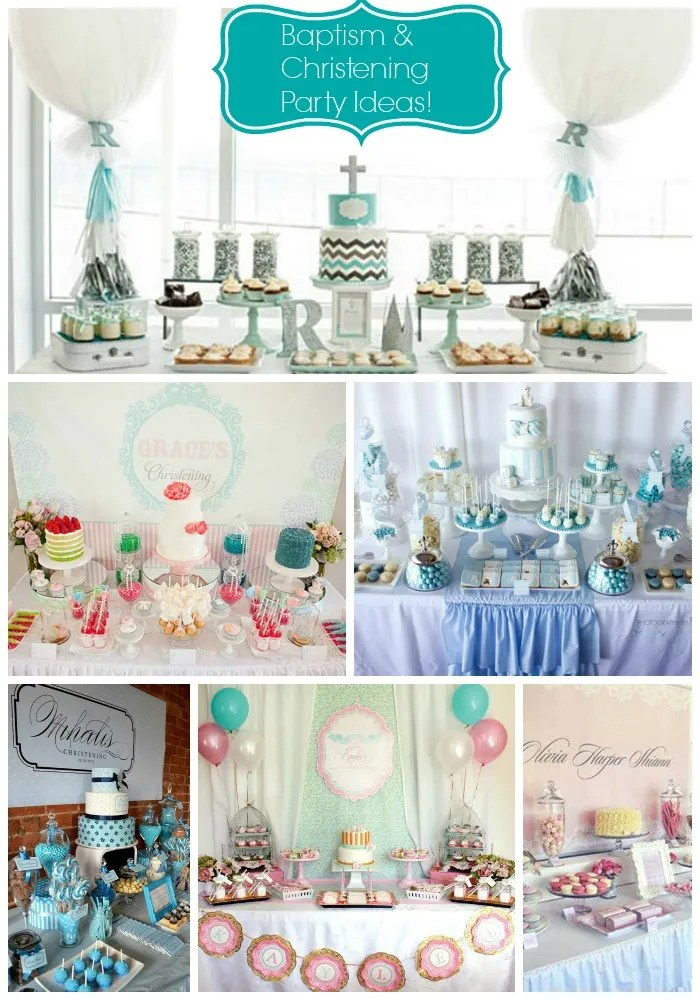 Baptism & Christening Party Ideas!
