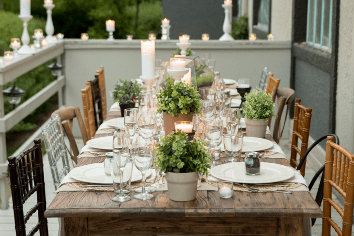 Beautiful Outdoor Dinner Party