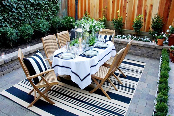 We {Heart} Outdoor Dinner Parties! - B. Lovely Events on Nautical Patio Ideas  id=73007