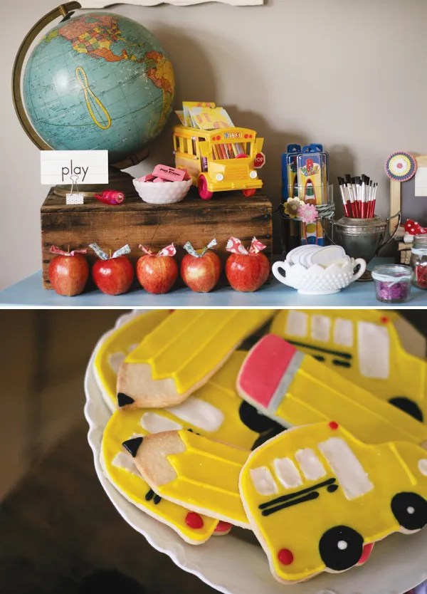 Cute Back To School School Bus Ideas