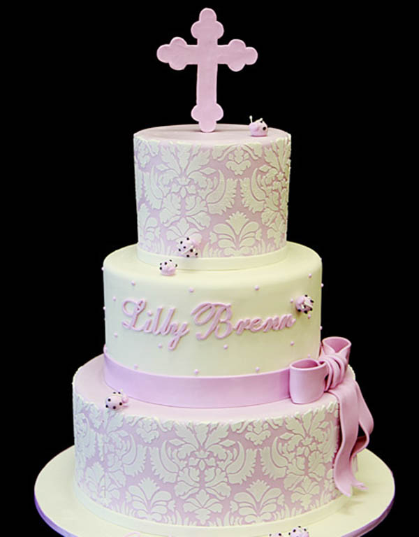 Baptism And Christening Cakes! - B. Lovely Events