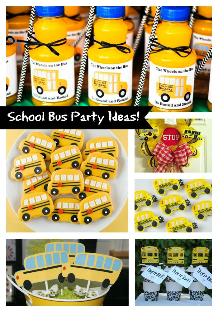 Our Favorite School Bus Ideas For Back To School!