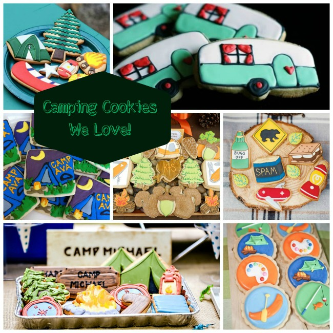 Camping Cookies We Love!