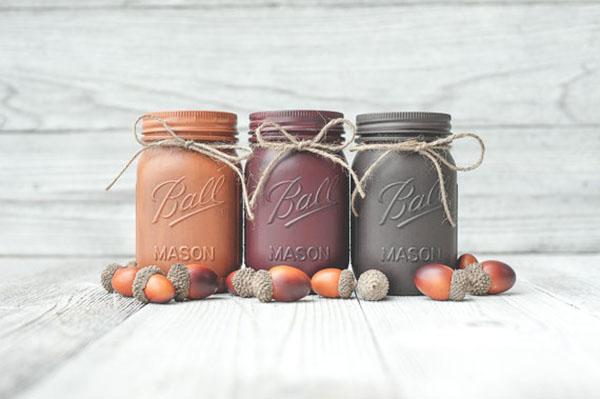 Cute Fall Mason Jars