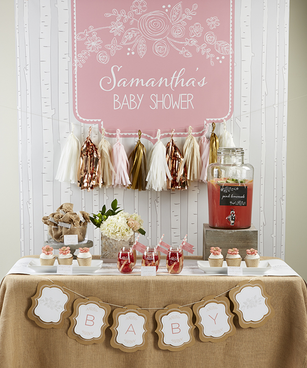 {Super Cute} Rustic Baby Shower - B. Lovely Events