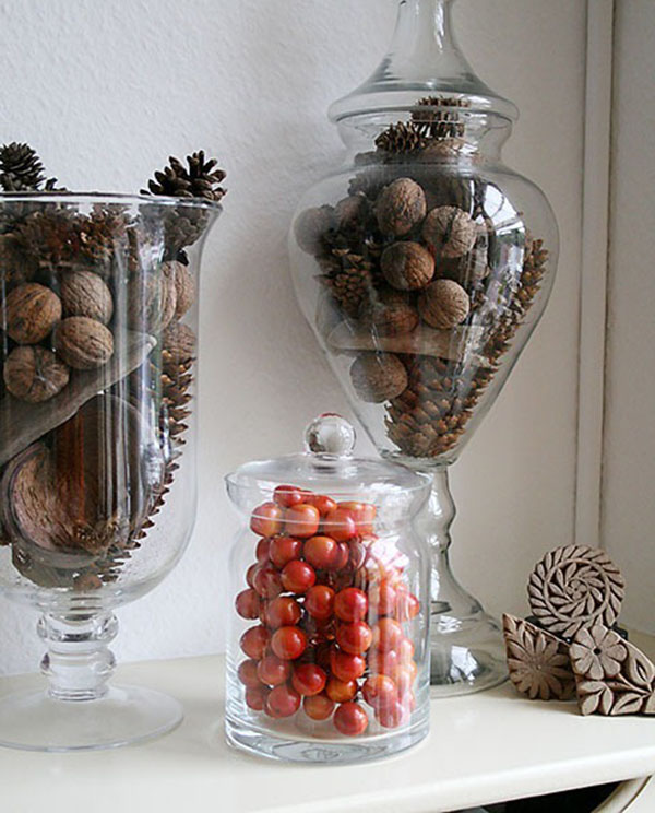 Lovely Fall jars