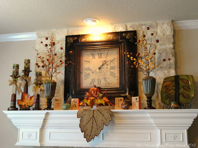 Lovely fall Mantle