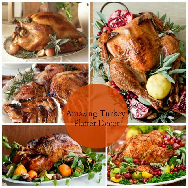Turkey Platter Garnish Ideas!