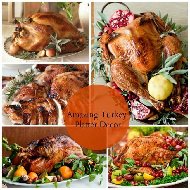 Amazing Turkey Platter Decor - B. Lovely Events