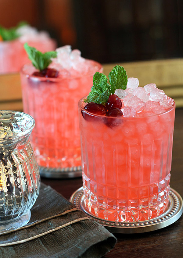Cranberry drinks For Thanksgiving!