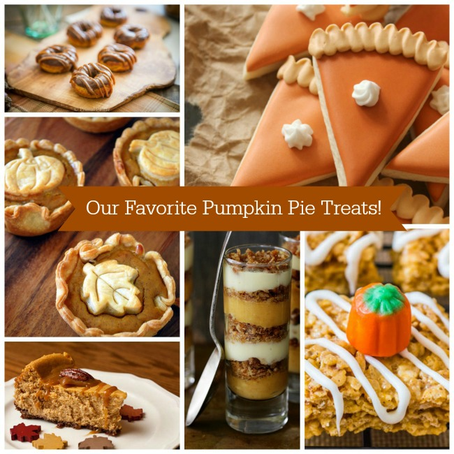 Our Favorite Pumpkin Pie Treats! - B. Lovely Events