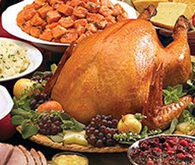 Pretty Turkey Platter Decorations