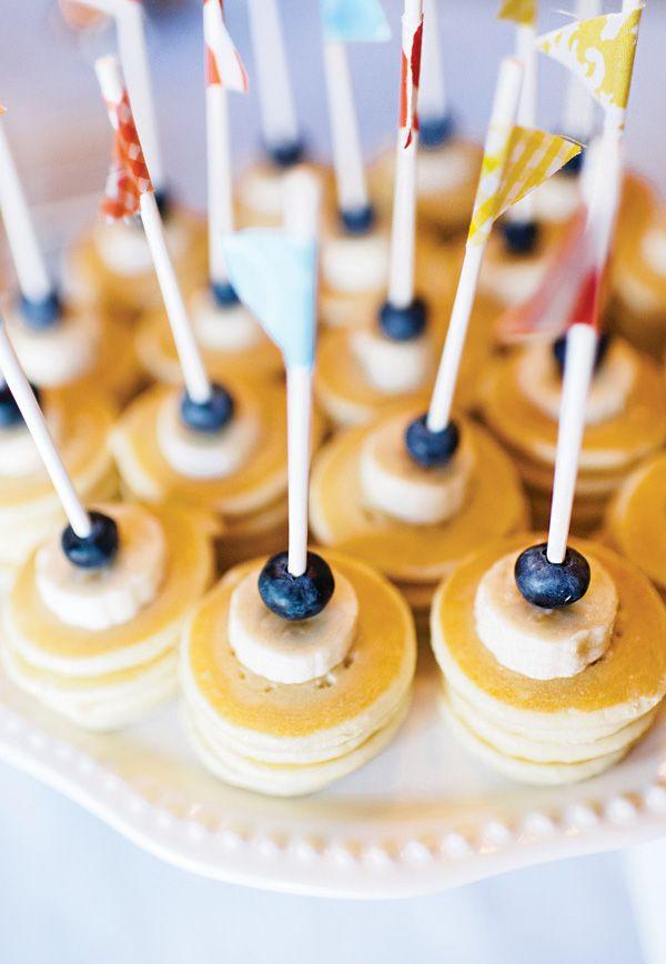 These Mini pancakes are so cute!