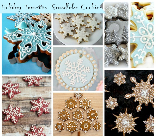 Holiday Favorites- Snowflake Cookies