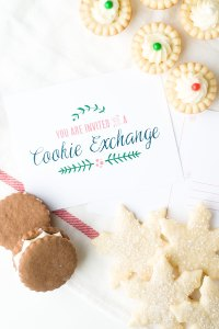 Day 6-Cookie Exchange Free Printables!