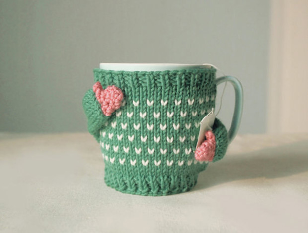 Oh my gosh this sweater mug is adorable!
