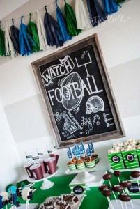 Football Parties We Love!