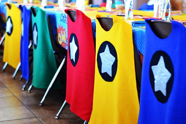 Superhero Cape Chairs