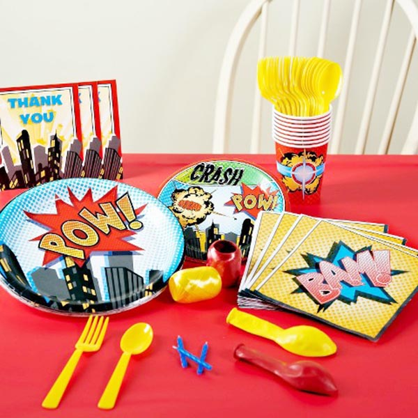 Superhero Party Set- So cute!