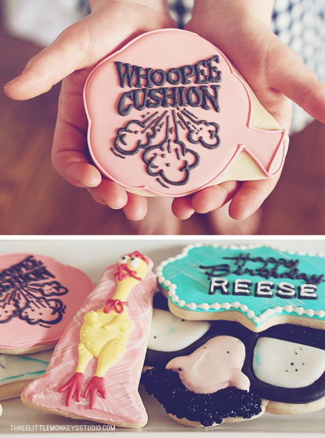 April Fools Cookies