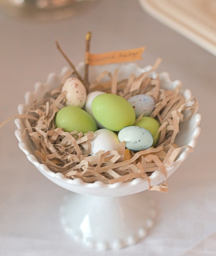 Nest Baby Shower Decorations