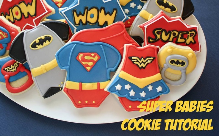 Superhero Baby Shower Themes ~ Fantastic superhero baby shower ideas b lovely events