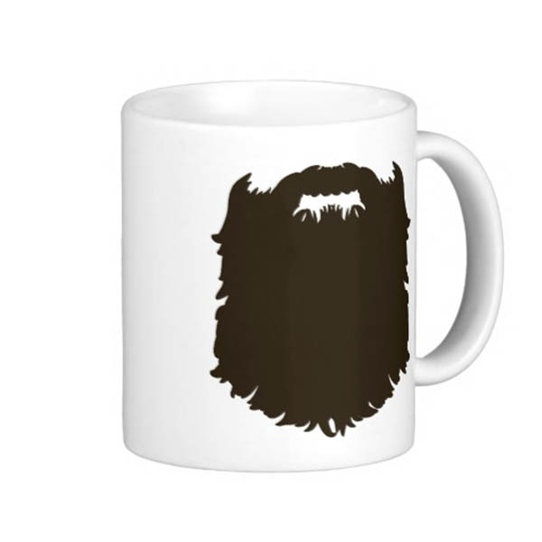 Beard Mug Gift Idea For Father's Day