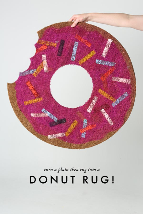 Fun Doughnut Rug For Donut Day!