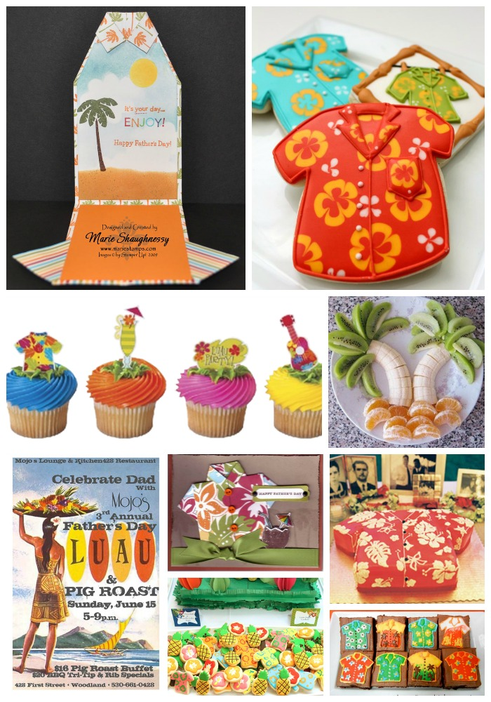 Fun Father's Day Luau Ideas! - B. Lovely Events