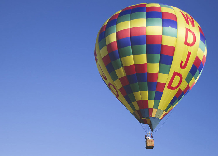Hot Air Balloon Engagement Shoot(1)- B. Lovely Events