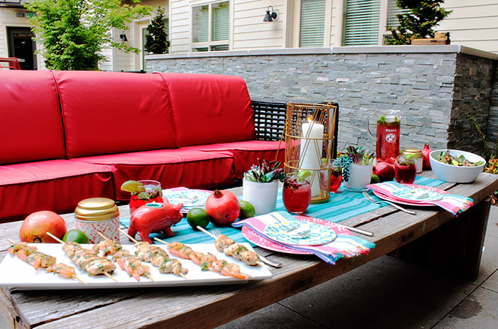 PAMA Celebrate Summer Backyard Dinner Party - B. Lovely Events
