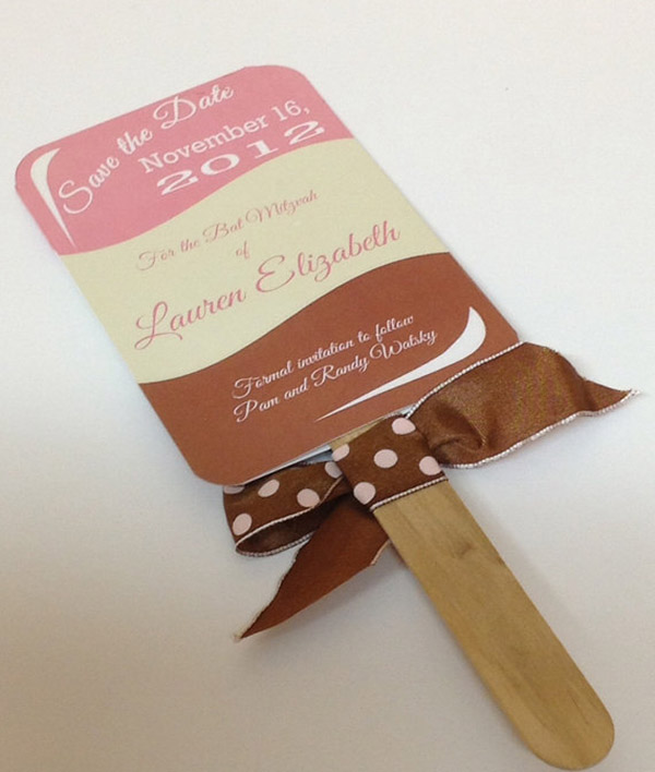 Popsicle Bar Invite- So cute!