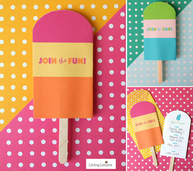 Summer Fun Popsicle Party Invite!