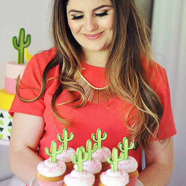Cactus Party Cupcakes!