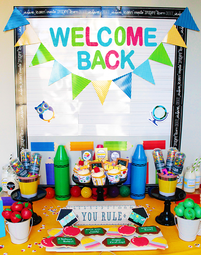 Back To School Party B Lovely Events